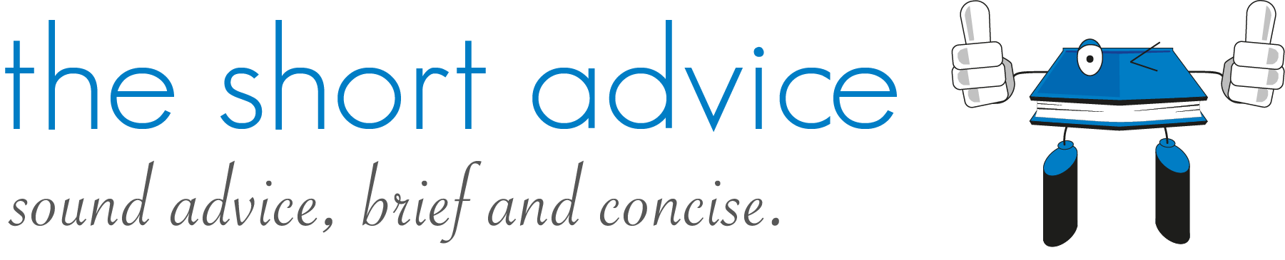 The Short Advice Logo