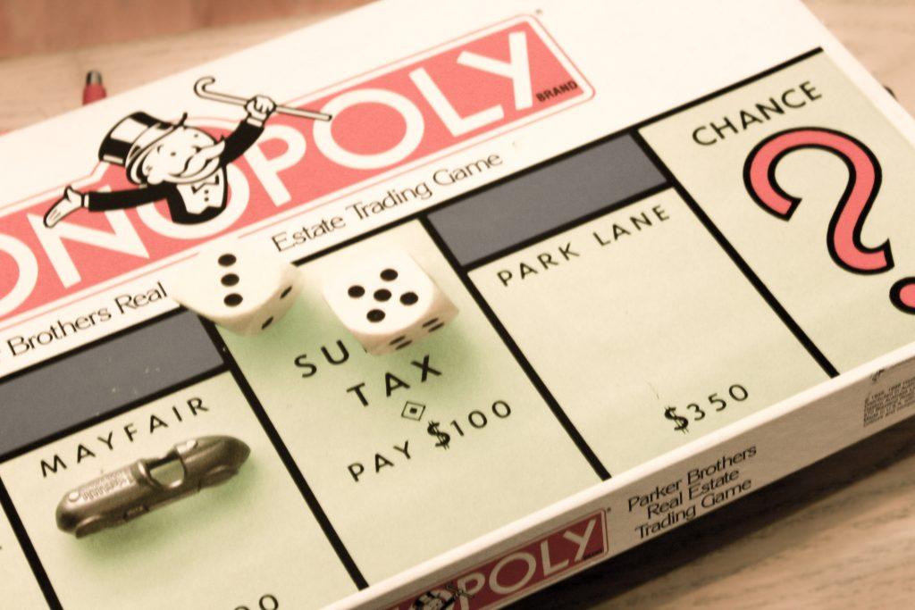 Monopoly financial stress